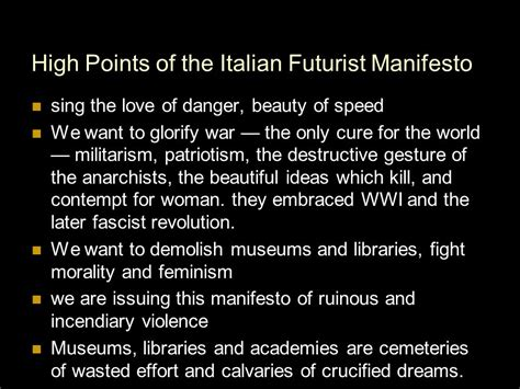 The Italian Manifesto by What S Your Robot Manifesto Ppt