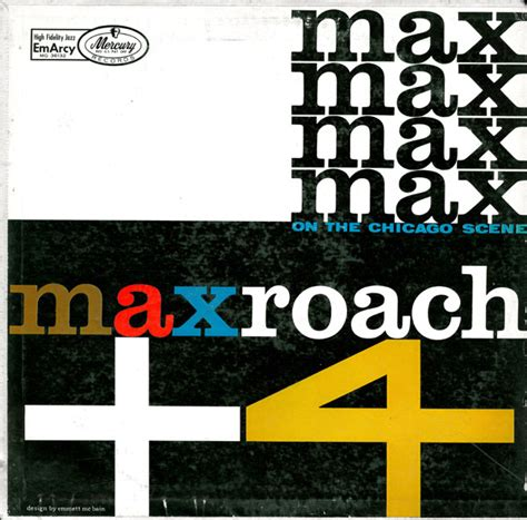 Chiggo Maxi 4 By Rn the max roach quintette max roach 4 on the chicago vinyl lp album at discogs