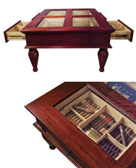coffee table cigar humidor the green