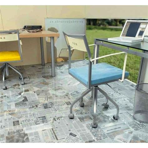 newspaper floor alternative floor and wall coverings