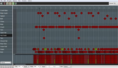 reaper drum pattern editor reaper with cubase drum editor sevenstring org