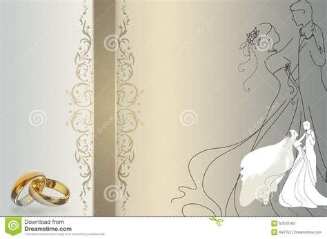 Wedding Invitation Gold Background by Wedding Invitation Template Stock Illustration
