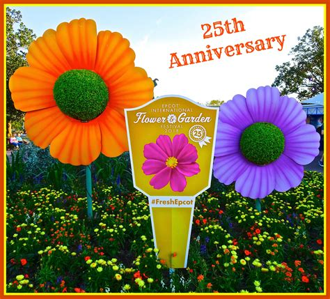 epcot flower and garden festival 25th anniversary