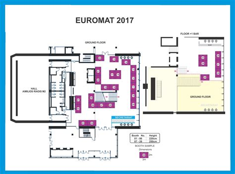 exhibition floor plan exhibition exhibition sponsors euromat 2017