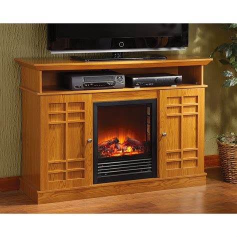 Fireplace Media Stand by Media Stand Fireplace 209369 Fireplaces At Sportsman S Guide