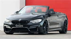 Bmw Convertable Tuningcars G Power Bmw M4 Convertible Gets 600 Hp