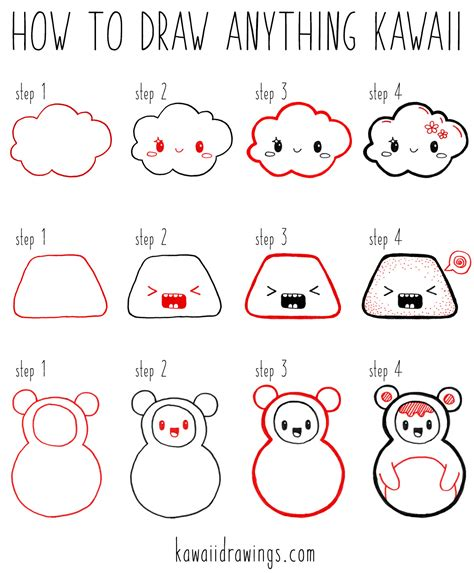 how to draw how to draw characters drawing for beginners how to draw featuring 50 characters step by step basic drawing hacks volume 9 kawaii shapes and character design week 15