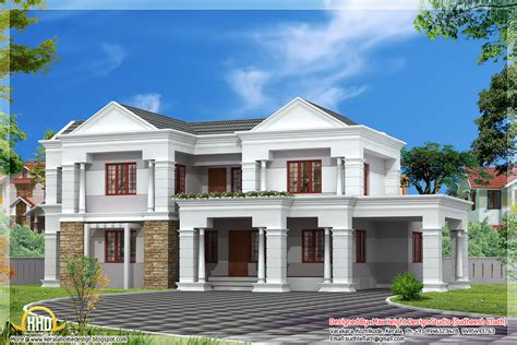 house roof designs in india sloping roof indian house elevation 3300 sq ft kerala home design and floor plans