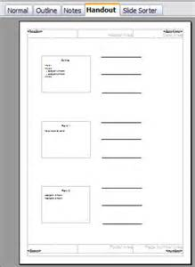 handout templates creating handouts apache openoffice wiki
