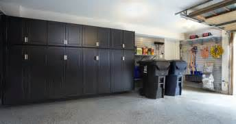 Pewter Garage Cabinets With Gray Slatwall Traditional