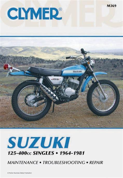 Suzuki Ts 250 Manual Clymer Repair Manual For Suzuki Tc125 Tm125 Ts125 Ts185