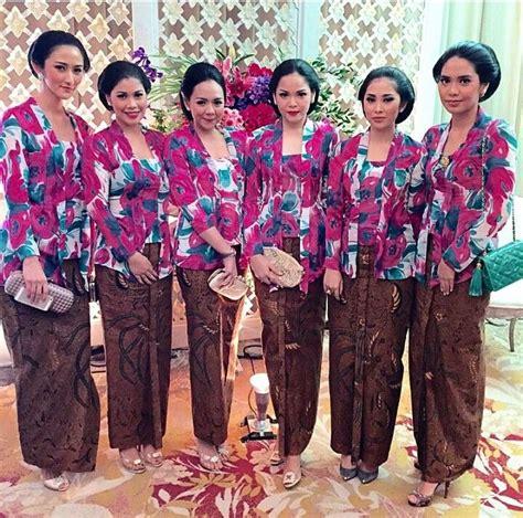 Baju Bridesmaid Jakarta seragam pernikahan kebaya more kebaya baju kurung and kebaya lace ideas