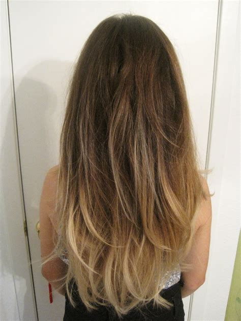 ombre highlights hair styles