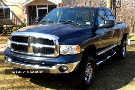 4 Door Dodge Ram 2004 dodge 2500 ram laramie 4x4 4 door