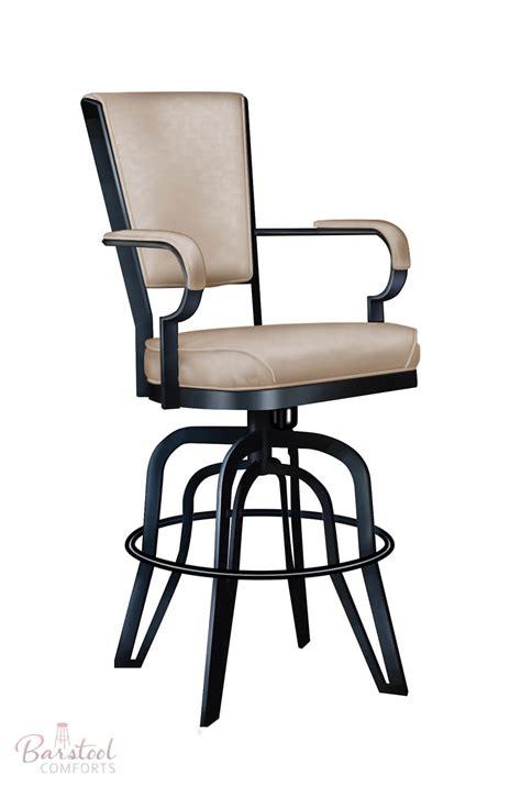 swivel tilt bar stools with arms furniture s 2545 rocking swivel bar stool free