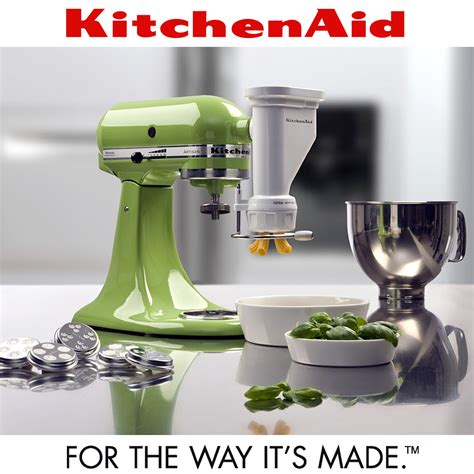 kitchenaid pasta shape press cookfunky