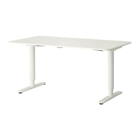Ikea Galant Standing Desk Bekant Desk Sit Stand White Ikea