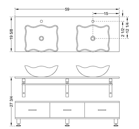 standard bathroom vanity dimensions standard vanity sizes bathroom 28 images bathroom