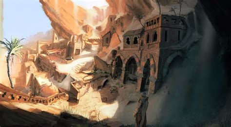environment concept video games artwork