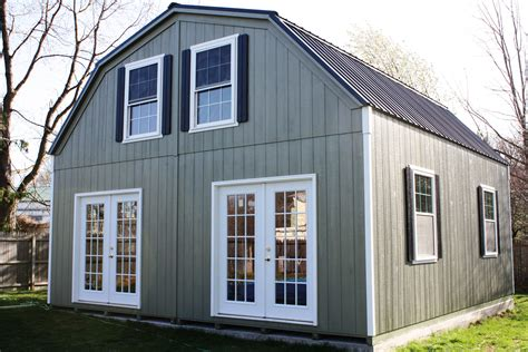 Story Sheds by 2 Story Wide Modular Garages And Sheds The Barn
