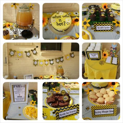 Bumble Bee Themed Baby Shower by 160 Best Images About Bumble Bee Theme Baby Shower On