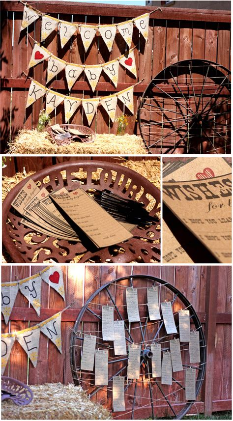 Baby Shower Western by Baby Shower Food Ideas Western Baby Shower Food Ideas
