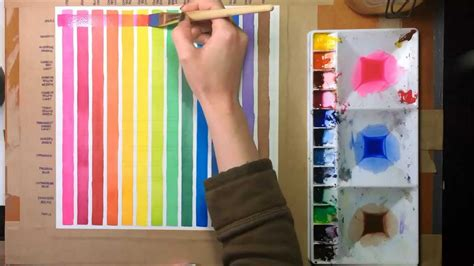 watercolor glazing tutorial watercolor painting lessons glazes youtube