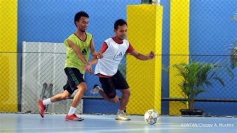 Lu Tembak Lapangan Futsal laba nendang dari bisnis sewa lapangan futsal