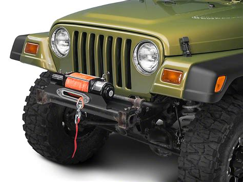 jeep yj winch country wrangler x series flat winch plate 1189 87