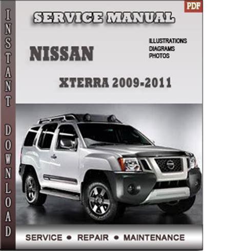service and repair manuals 2008 nissan xterra on board diagnostic system 2009 2010 nissan xterra n50 service repair manual
