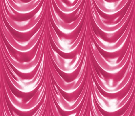 shocking pink curtains pink swagger fabric peacoquettedesigns spoonflower