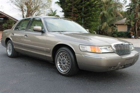 repair anti lock braking 2001 mercury grand marquis transmission control find used 2001 mercury grand marquis gs 1 owner fla kept driven lowest mileage in the usa in