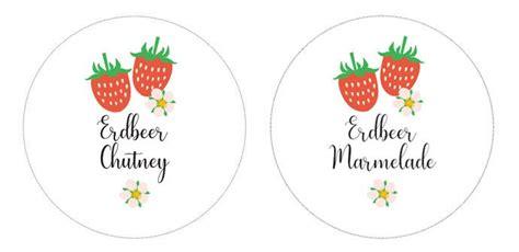 Marmeladenglas Aufkleber Drucken by Die Besten 25 Etiketten F 252 R Marmelade Ideen Auf