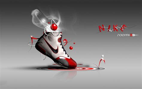 desktop wallpaper zoomed in nike 3d wallpapers wallpaper cave
