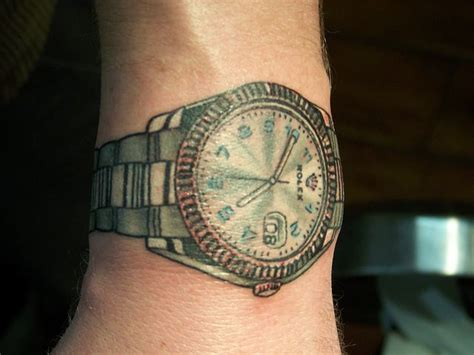 wrist watch tattoos rolex tattoos wrist and