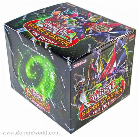 yugioh deck box konami yu gi oh 2013 starter deck v for victory box