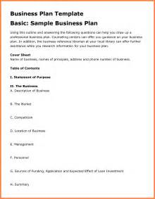 12 examples business plan outline bussines proposal 2017