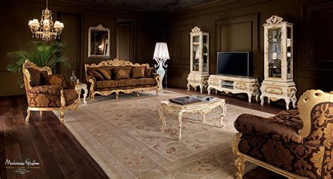 classic wall units living room classic living room wall unit wood villa venezia modenese gastone luxury furniture iranews