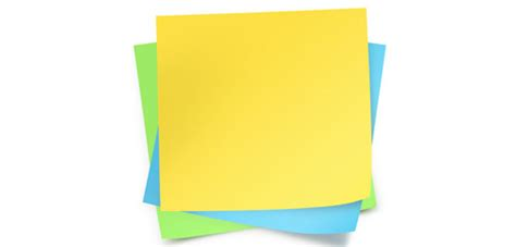 Green Dino Sticky Notes Post Its stack of post its clipart best clipart best