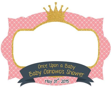Baby Shower Pic Frames by 17 Best Images About Diy Photo Booths On Free