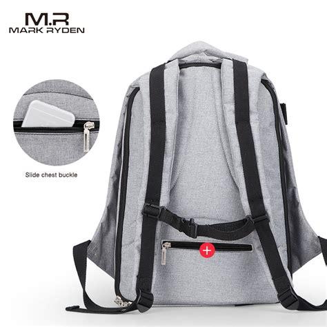 Tas Backpack Dc Rope Gray ryden tas ransel laptop dengan usb charger port mr5761a gray jakartanotebook