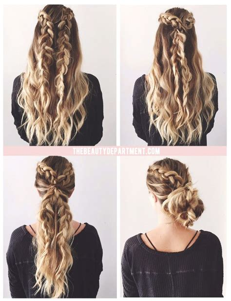 hairstyles for thick hair no heat best 25 thick hair hairstyles ideas on pinterest easy