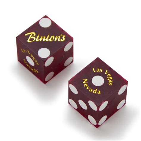 19mm Dice pair 2 of official 19mm casino dice used at binion s