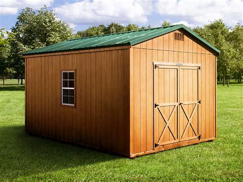 original prefab storage sheds woodtex