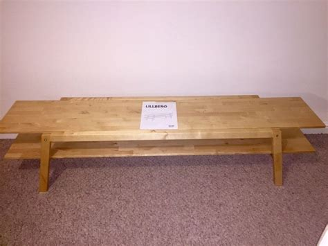 wooden bench ikea lillberg ikea wooden bench tv stand coffee table in