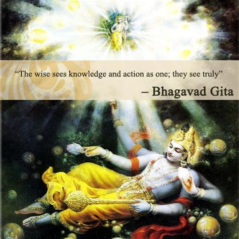 Gita Overall 1 the wise sees knowledge and as one they see truly bhagavad gita quotes bhagavad
