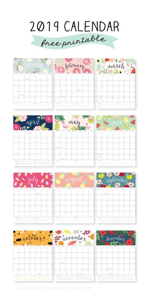 calendarios fofos de  gratis  imprimir calendario mensal  impressao calendarios
