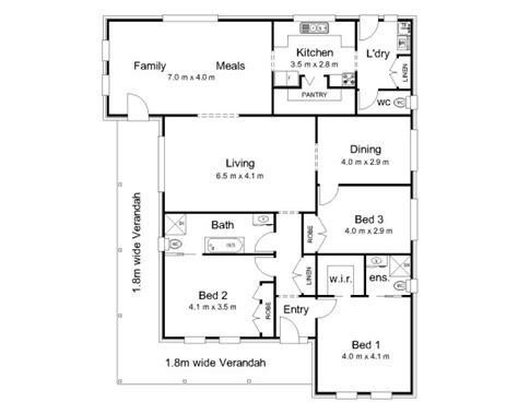 colonial house plans australia the fitzroy 171 australian house plans