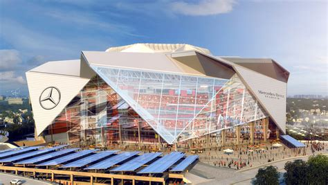 Home Design Center Miami by The Atlanta Falcons New Arena Officially Named The