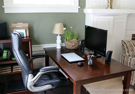 budget friendly tips on organizing your home office